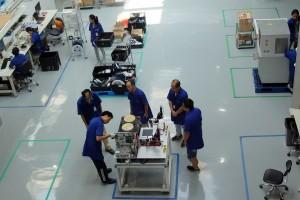 Epoch International Factory Floor